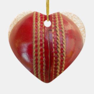 Cricket Ball.jpg Ceramic Ornament