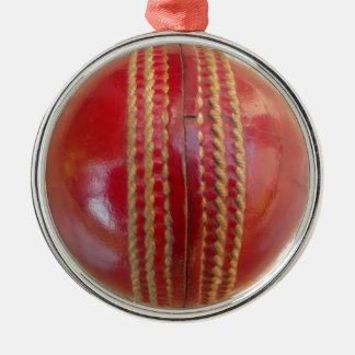 Cricket Ball.jpg Metal Ornament