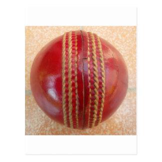 Cricket Ball.jpg Postcard