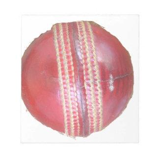 Cricket BALL Notepad