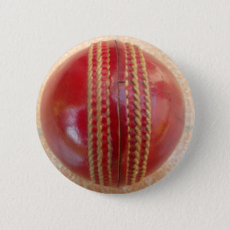 Cricket Ball Pinback Button