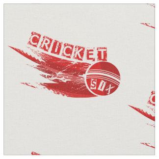 Cricket Ball Sixer Fabric