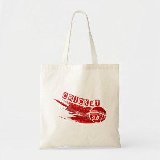 Cricket Ball Sixer Tote Bag