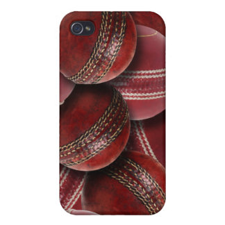 Cricket Balls Collage  Cover For iPhone 4