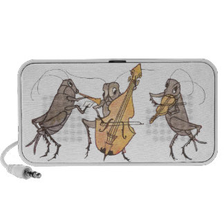 Cricket Band with Horn, Cello & Violin Mini Speakers