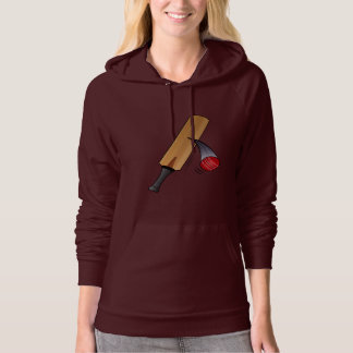 Cricket Bat and Ball Hoodie