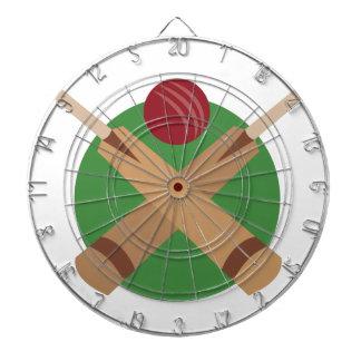 Cricket Bats Dartboard With Darts