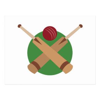 Cricket Bats Postcard