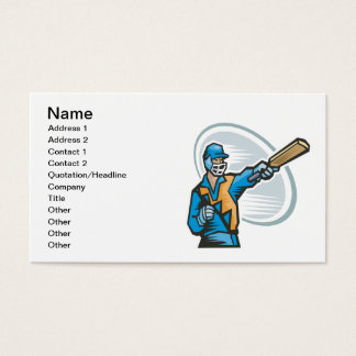 Cricket Batter 2 Business Card