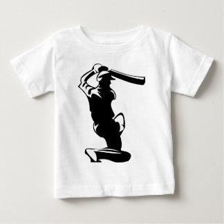 cricket batter player baby T-Shirt