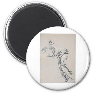 Cricket Bowler Magnet