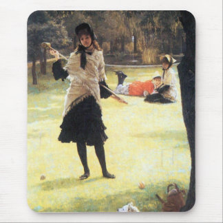 Cricket by James Tissot Mouse Pad