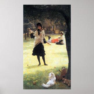 Cricket by James Tissot Print
