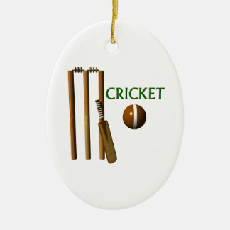 Cricket Ceramic Ornament