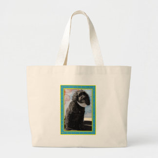 Cricket - Cocker Poodle -4 Jumbo Tote Bag