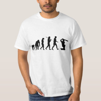 Cricket - Cricket batting sports evolution T-Shirt