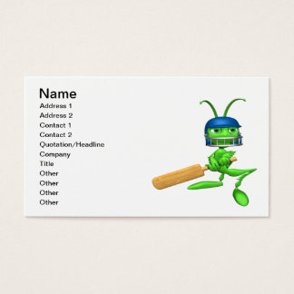 Cricket Cricket Business Card