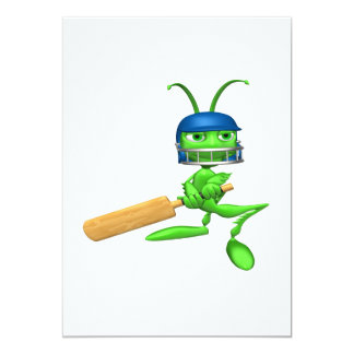 Cricket Cricket 5x7 Paper Invitation Card