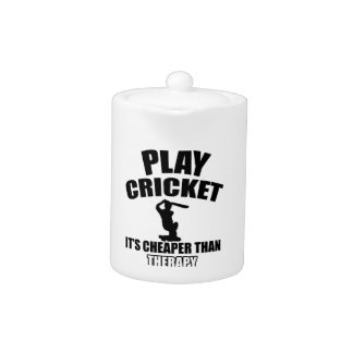 cricket   design teapot