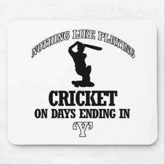 CRICKET designs Mouse Pad
