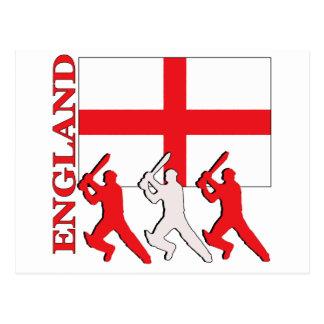 Cricket England Postcard