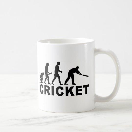 Cricket Evolution Coffee Mug