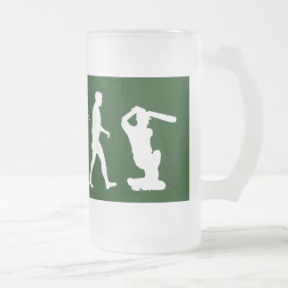 Cricket - Evolution of cricket Beer mug