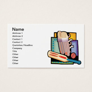 Cricket Gear Business Card