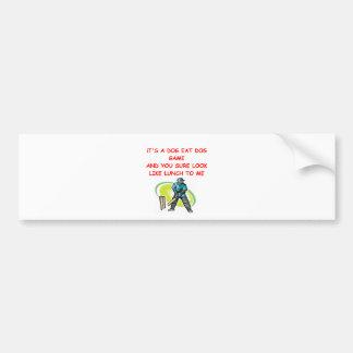 cricket gifts car bumper sticker