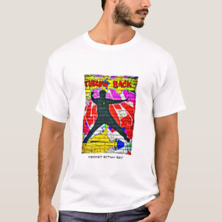 Cricket Graffiti - Throw Back T Shirt