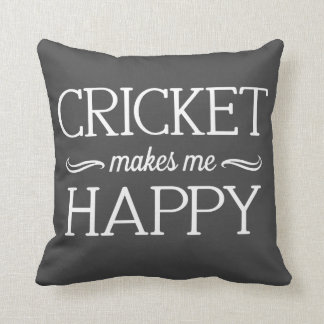 Cricket Happy Pillow - Assorted Styles & Colors