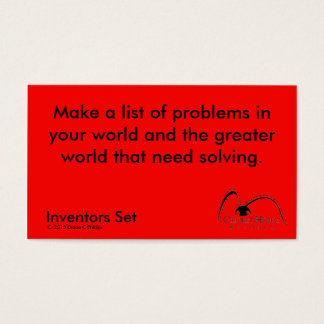Cricket House Studios Inventors Cards 2