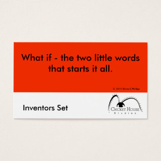 Cricket House Studios Inventors Cards 3b