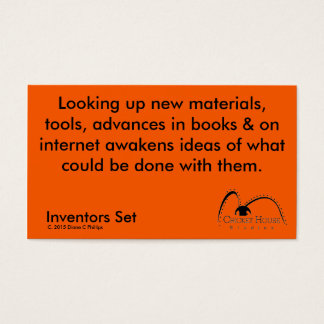 Cricket House Studios Inventors Cards 4