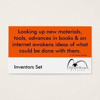 Cricket House Studios Inventors Cards 4b