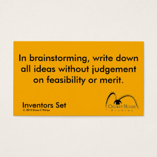 Cricket House Studios Inventors Cards 6