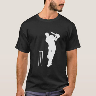CRICKET IN WHITE (LARGE IMAGE) T-Shirt