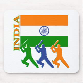 Cricket India Mouse Pad