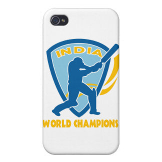 cricket india world champions batsman batting iPhone 4/4S covers