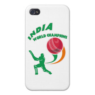 cricket india world champions cover for iPhone 4