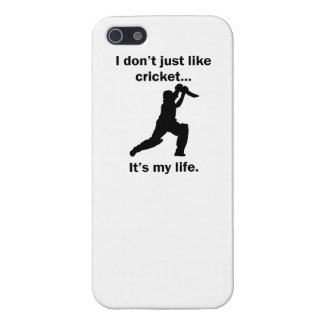 Cricket It's My Life Case For iPhone SE/5/5s