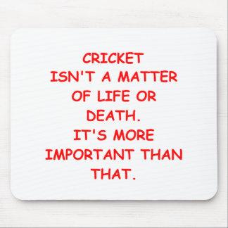 cricket joke mouse pad