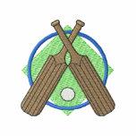 Cricket Logo Embroidered Hooded Sweatshirt