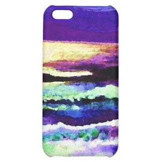 """Cricket Night Sea"" CricketDiane Ocean Art Cover For iPhone 5C"
