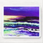"""Cricket Night Sea""  CricketDiane Ocean Art Mouse Pad"