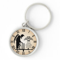 Cricket - Old Father Time Keyring