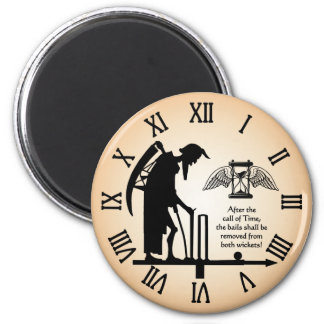 Cricket Old Father Time Magnet