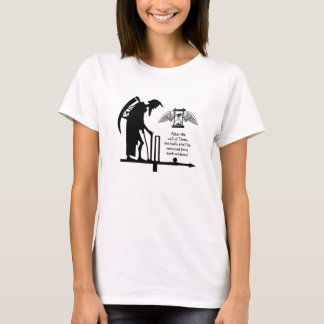 Cricket, Old Father Time T-Shirt