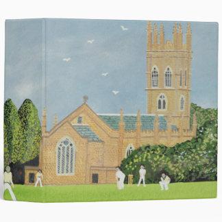 Cricket on Churchill Green Binder