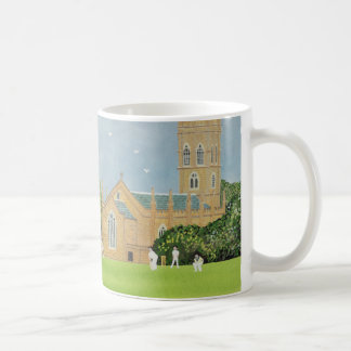 Cricket on Churchill Green Coffee Mug